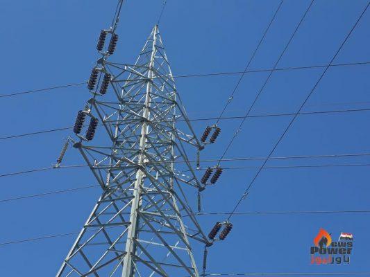 كهروميكا تنجح في إطلاق التيار على خط كفر الشيخ الجديدة / المثلث القائمة جهد 66 ك.ف