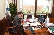 عبر الفيديو كونفرانس .. وزير البترول يعتمد نتائج أعمال شركتى عجيبة والفرعونية للعام المالى المنتهي