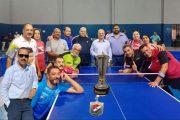 فريق تنس الطاولة للسيدات بشركة شمال القاهرة يحصل علي المركز الثاني في بطولة الجمهورية للشركات