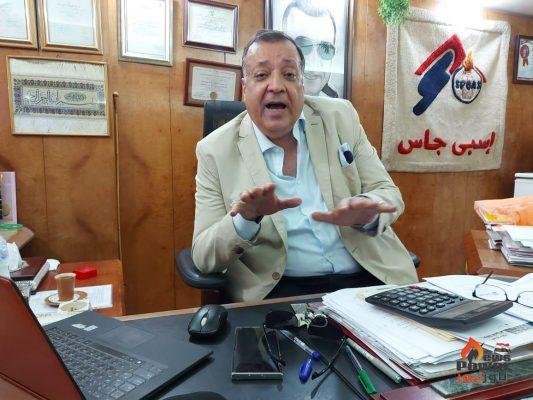 الدكتور محمد سعد الدين رئيس جمعية مستثمري الغاز لـ