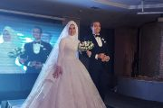 بالصور .. رئيس شركة اي جي تريد للتجارة يحتفل بزفاف نجلته وسط حضور عدد كبير من الاهل والاصدقاء