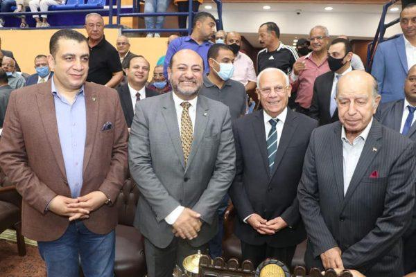 محافظ بورسعيد يشهد ختام بطولة دوري الشركات في نسختها الـ ٥٣