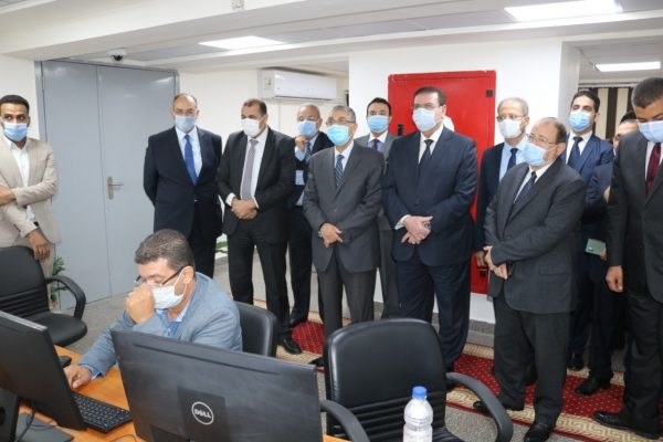 وزير الكهرباء يفتتح المشروع القومي للبنية التحتية للعدادات الذكية بمصر