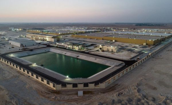 أكبر خزان لتخزين المياه في العالم تم بناؤه بواسطة CCC  يحصد موسوعة جينيس للأرقام القياسية