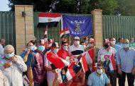 ايفاكو تنظم مسيرة من العاشر من رمضان الي المنصة للمشاركة في احتفالات اكتوبر بقيادة احمد الختام