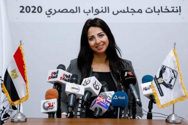 فوز نشوي الشريف بنت مصر للبترول بانتخابات مجلس النواب 2020