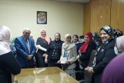 احتفالية لمساعد نائب الرئيس التنفيذي للهيئة للشئون الإدارية بمناسبة خروجها للمعاش