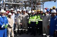 منتصف ديسمبر ..التشغيل التجريبي لمحطة معالجة الغاز بحقل ريفين بطاقة 250 مليون قدم مكعب غاز يومي و10 الاف برميل متكثفات يوميا