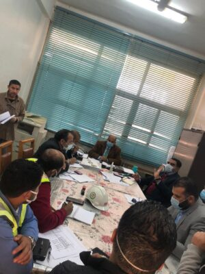 اجتماع بين شركة ABB ومنطقة كهرباء مصر الوسطي لتوسعة محطة محولات سمالوط 500 ك.ف بـ 2 ممانع حثي