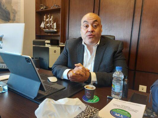 زهيري : سنركز بقوة على الخدمات اللوجستية من خلال الشراكة مع احدي الشركات لرفع حجم الصادرات المصرية بجانب تجارة الفوسفات
