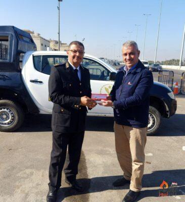 الامين العام لنقابة البترول يقدم التهنئة لرجال الشرطة البواسل بمناسبة العيد 69