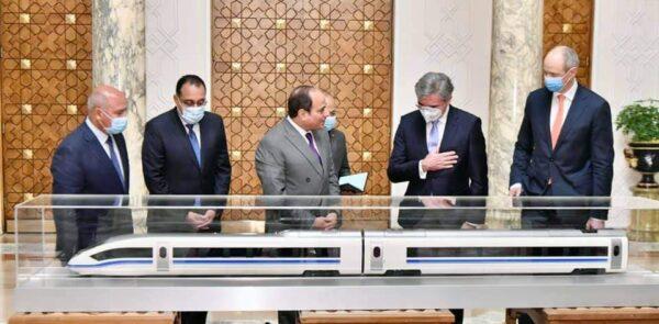 الرئيس السيسي يطلع على الاتفاق النهائي لقيام شركة