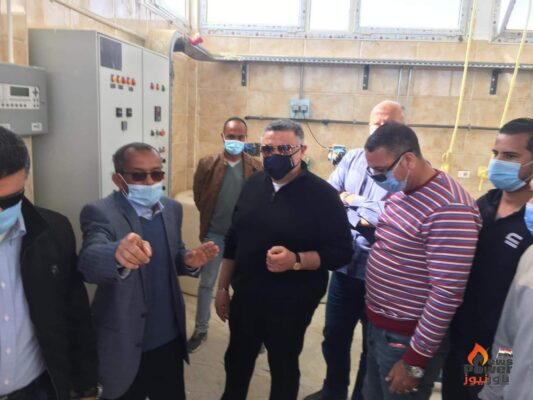 محافظ البحر الأحمر يفتتح محطة معالجة الصرف الصحي الثلاثية المدمجه بمرسي علم