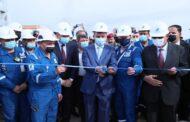 وزير النفط العراقي يفتتح محطة للغاز بطاقة 60 مليون قدم مكعب قياسي يومياً
