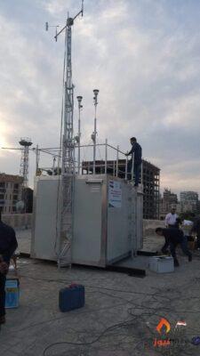 تركيب أول محطة رصد لحظية متكاملة لرصد ملوثات الهواء المحيط بحى الشرق بمحافظة بورسعيد