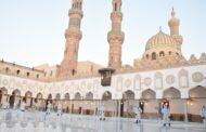 القوات المسلحة تقوم بأعمال التطهير والتعقيم لعدد من المساجد الكبرى خلال شهر رمضان المعظم ...