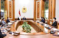 الرئيس السيسى يستقبل الرئيس التنفيذى لشركة هيونداى روتم الكورية