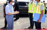 الرئيس السيسى يواصل جولاته الميدانية بتفقد قطاعات الطريق الأوسطى وسوق السيارات الجديد بطريق السخنة