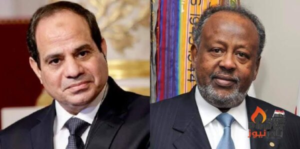 الرئيس السيسى يتلقى اتصالا هاتفيا من رئيس جيبوتى