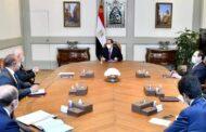 الرئيس السيسى يتابع نشاط شركة eni في مجال التنقيب والإنتاج بقطاع الغاز والبترول في مصر وجهود مصر للتحول لمركز إقليمي لتجارة الطاقة