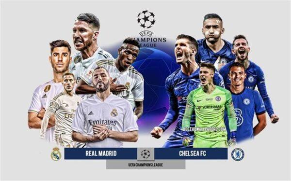 تاريخ قمة مواجهات ريال مدريد وتشيلسي في دوري ابطال اوروبا