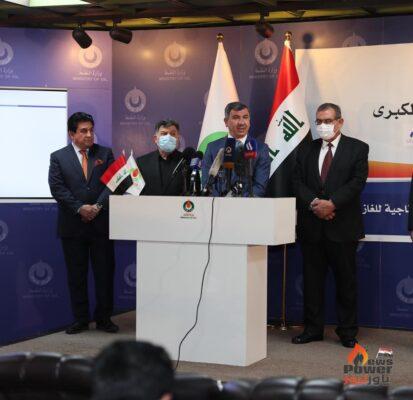 وزير النفط العراقى يعلن عن اقرار الخطة الاستثمارية لشركة غاز البصرة بكلفة 3 مليار دولار