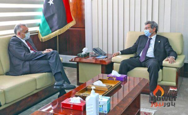 سفير إيطاليا لدى ليبيا يزور وزير النفط والغاز