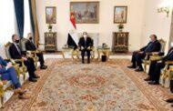 عاجل ..  الرئيس السيسى يبلغ المبعوث الأمريكى بأن قضية سد النهضة قضية وجودية لمصر ولن نقبل بالمساس بمقدرات شعبنا