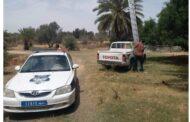 تواصل حملة إزالة التوصيلات غير القانونية وجباية الديون المتراكمة بعدد من المناطق الليبية