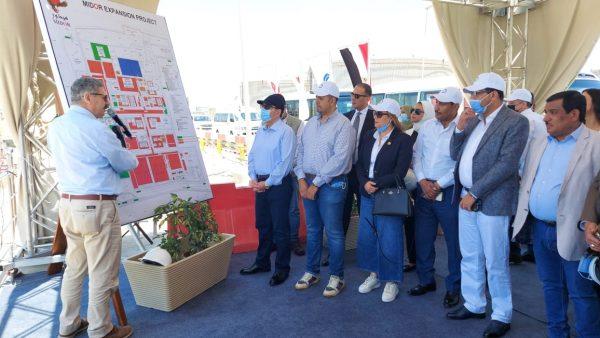 وزير البترول ونواب البرلمان يتفقدون توسعات مصفاة تكرير ميدور بالأسكندرية بتكلفة 4ر2 مليار دولار