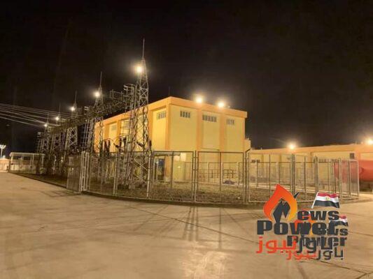 سرقة نحاس محطة محولات جمصة الجديدة جهد 220 ك.ف بعد 4 اشهر من تشغيلها