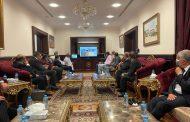 السفير العُماني بالقاهرة يبحث مجالات الاستثمار المشترك مع عدد من المستثمرين المصريين