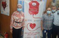 اللجنة النقابية ببدر الدين للبترول تنظم حملة تبرع بالدم لصالح مستشفي57357