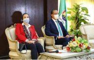وزيرة البيئة ومحافظ الفيوم يفتتحان أول نموذج فى مصر لتحويل المخلفات لطاقة بالتغويز اللاهوائى بقرية قلهانة بالفيوم