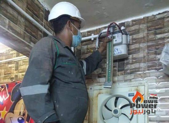 محافظ الوادي الجديد : توصيل خدمة الغاز الطبيعي ل ١١٦٠ منزل بالخارجة