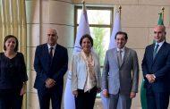 زواتي تدعو الشركة العربية للتعدين للاستفادة من الفرص الاستثمارية المتاحة في المملكة الاردنية
