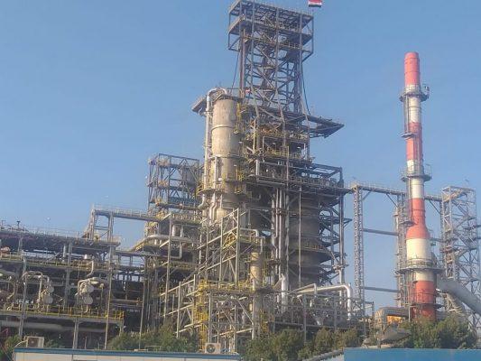 عاجل .. تشغيل وحدة التكسير الهيدروجيني للمصرية للتكرير بكامل طاقتها بعد الانتهاء من إجراء العمرة السنوية