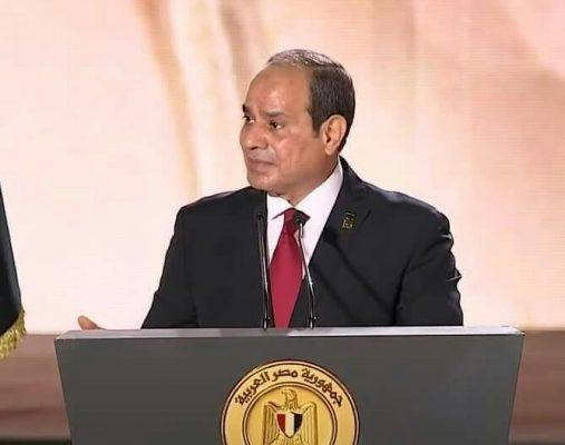 الرئيس السيسي يهنئ فريال أشرف بذهبية طوكيو  :