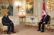 الرئيس التونسي يستقبل وزير الخارجية المصري بقصر قرطاج