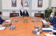الرئيس السيسى يتابع الموقف التنفيذي الخاص بسد