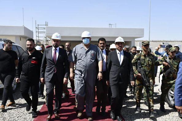 العراق يدشن محطة تحويل كهرباء جنوب سامراء الثانوية جهد 132ك.ف وخط صلاح الدين الحرارية- غرب بغداد جهد 400ك.ف