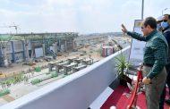 الرئيس السيسي يتفقد أعمال تطوير وتوسعة الطريق الدائري