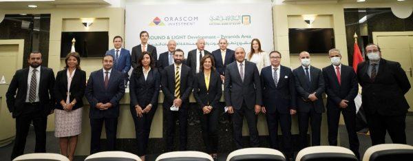 البنك الأهلي المصري وشركة اوراسكوم يوقعان اتفاقية تمويل بمبلغ 311 مليون جم لرفع كفاءة منظومة الصوت والضوء..