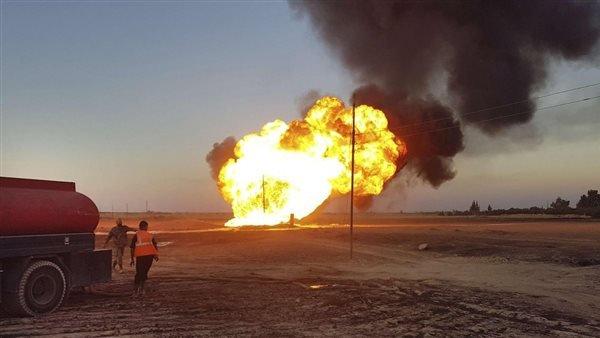 وزارة النفط السورية تعلن عودة خط الغاز العربى للعمل بعد تعرضه لهجوم إرهابى