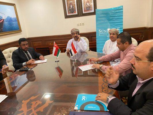 توقيع اتفاقية شراكة عمانية مصرية برعاية سفارة السلطنة بالقاهرة