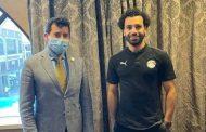 وزير الرياضة يلتقي محمد صلاح علي هامش زيارته للمعسكر التدريبي للمنتخب
