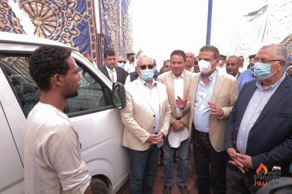 البنك الزراعي المصري يضخ 110 مليون جنيه لتمويل إحلال 606 سيارة نصف النقل بميكروباص لتطوير وسائل النقل الجماعى في المحافظات تحقيقاً لأهداف مبادرة حياة كريمة