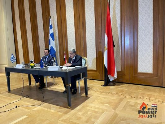 عاجل و تأكيدا لانفراد باور نيوز .. مصر توقع مذكرة تفاهم للربط الكهربائى الثنائى مع اليونان