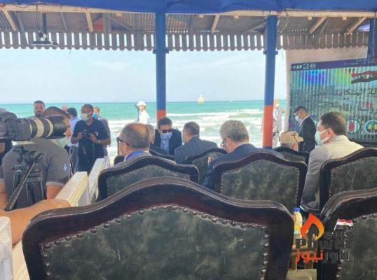 بحضور قيادات هيئة البترول.. بدأ المناورة البحرية المتكاملة مصر المحروسة 16 في حقول ابو رديس