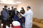 حملة تطعيم للعاملين بشركة امابتكو ضد فيروس كورونا